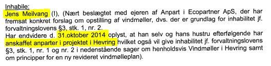 Fejlagtig oplysning fra Norddjurs Kommune i vindmøllesagen1