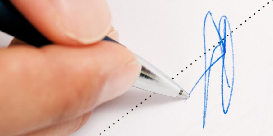 underskriv